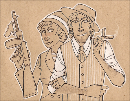 Fashionable gangsters by sonneteers