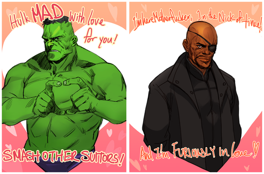 Avengers Valentine's by 2013