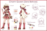 Sera Belrose [Reference Character Sheet] by MadelineCG