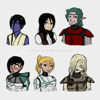 Gender bender OCs by rayn44