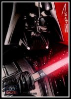 Star Wars Galaxy 7 AP 1 Vader by RandySiplon