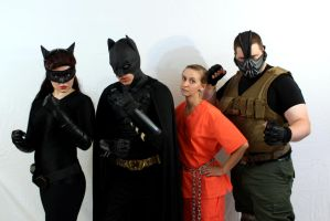 Catwoman and her crew #1 by AngelValiant
