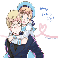Happy Father's Day! by MissPepperony
