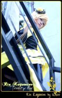 Kagamine Rin_ The Queen by MmeWhoo