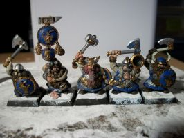 Dwarf Warriors FC by Lizardknight