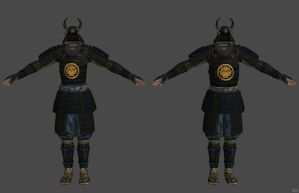 'Fallout 3' Samurai Set XPS ONLY!!! by lezisell