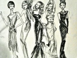 Fashion 1920s  through 1960s by she-is-a-day-tripper