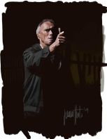 Clint Eastwood in Gran Torino by JaHueto