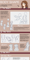 Body Shape Tutorial by Tiribrush