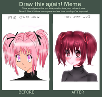 Draw this again! Meme by xKittyblue
