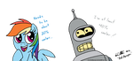 Bender is 40% by RedApropos