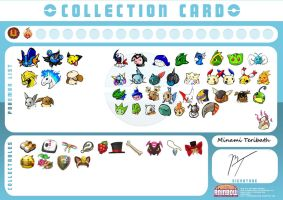 Minami's Collection Card by Giggles-the-Panda