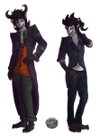 {OCs} The Riander Brothers by Spychedelic