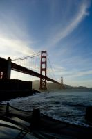 Golden Gate Bridge by MordsithCara