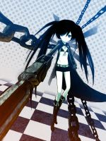 Black Rock Shooter by mark-kawaguchi