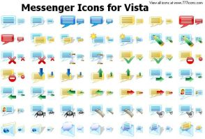Messenger Icons for Vista by newroze
