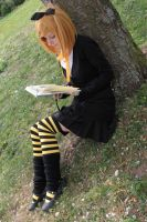 Reading Stock 19 by Malleni-Stock