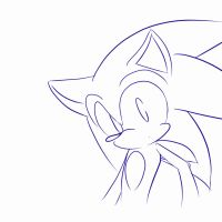 Sonic Blinking Animation by fansonic