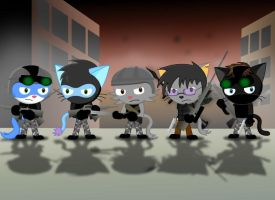 COD Feline squad by GoneIn10Seconds