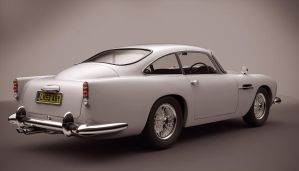 Aston Martin DB5 by Trisquote