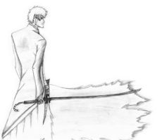 Ichigo - Bankai sketch by Cobz