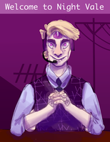 welcome to night vale by TheEggeh