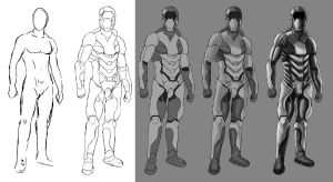 Armour step by step by Blackidus