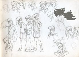 Harry Potter Genderbent by xaykocys