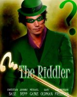 Johnny Depp as The Riddler by CreativeJuiciz