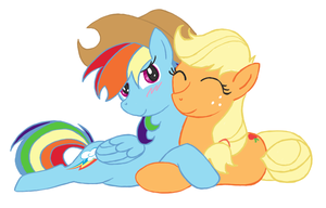 More Appledash by feather-chan