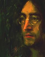 JOHN LENNON SKETCH by JALpix