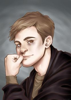 Remus Lupin by SandraGN
