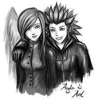 Angela and Axel by cold-nostalgia