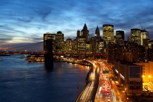 New York City by MICHAELSTEELE
