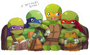 TMNT- Next Game by Tenshilove