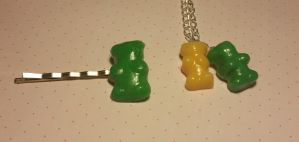 Scented Gummy Bear Set by ninja2of8