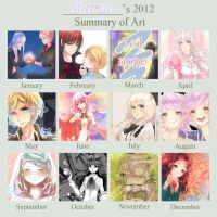My 2012 Art Summary by sheryu