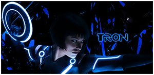 Tron the legacy sign. by Fishq