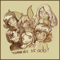 Thankies 15000 by StressedJenny