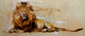 Lion Small by alrasyid