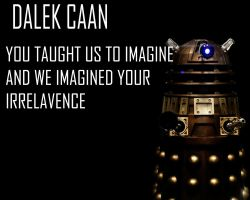 Dalek Caan Wallpaper by Lordstrscream94