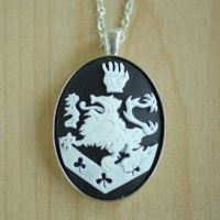 Cullen Crest Necklace by foowahu-etsy