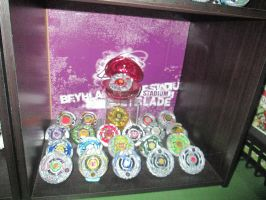 Beyblade Shrine - Customs by Kyouseme-Arasaki