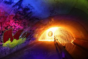 Tunnel Pyromaniac by CainPascoe