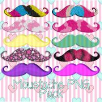 Moustache Pack by GabyBBieber