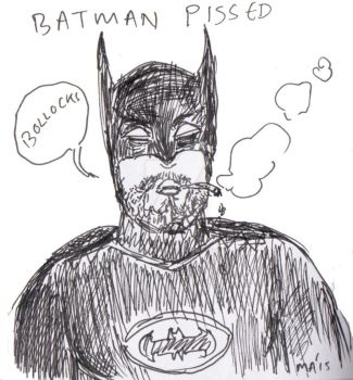 Batman Pissed by Replicant-Wookie