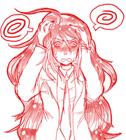 flustered izuru by Kealani-kun