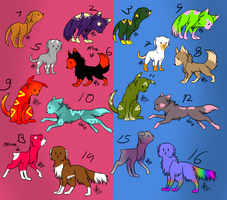 Free adopts 6 ( + points) by Amanska