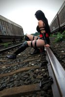 sometimes I wish me an other life-Psylocke by elementgirl-Josy