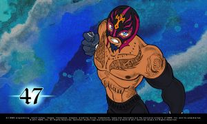 Rey Mysterio by SantillanStudio